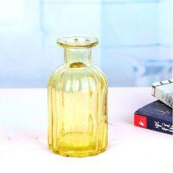 종모양  유리병 (노랑) 수경재배 VASE