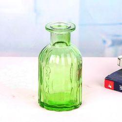 종모양  유리병 (연두) 수경재배 VASE