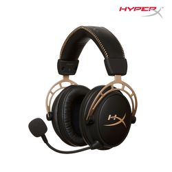 HyperX Cloud Alpha 헤드셋 골드 HX-HSCA-GDNAP