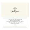 마음새 스페셜 답례 봉투+답례카드 50매