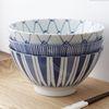 예쁜 디자인 일본 우동 라멘 면기 그릇