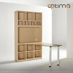 옵티마 헌터메이플 1200 책상