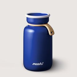 [MOSH] 모슈 보온보냉 라떼 텀블러 330ml 블루