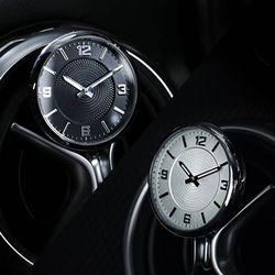 카츠클락 차량용 아날로그 시계 프리미엄 노블