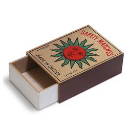 [Giants Match Wooden box] 빈티지스웨덴성냥갑 NWB003-02