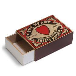 [Giants Match Wooden box] 빈티지스웨덴성냥갑 NWB003-04