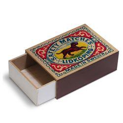 [Giants Match Wooden box] 빈티지스웨덴성냥갑 NWB003-07