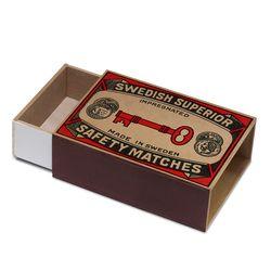 [Giants Match Wooden box] 빈티지스웨덴성냥갑 NWB003-12