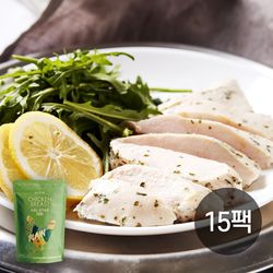 썬더버드 수비드 닭가슴살 플레인 15팩