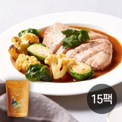 썬더버드 수비드 닭가슴살 소이갈릭 15팩