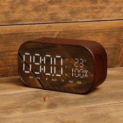 시계 알람 거울 블루투스 스피커 SNP-W8