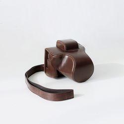 캐논 EOS M5  M50 카메라 케이스 파우치 가방 초코