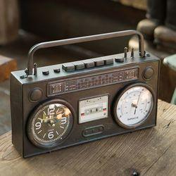 R5264 카세트라디오 탁상시계