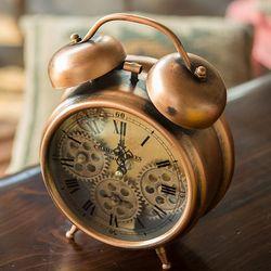 R5275 브론즈 괘종 탁상시계
