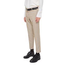 Topeka check slacks (Beige)