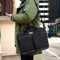 A41 맥북 노트북 비지니스 브리프케이스 15인치-15.6인치 블랙