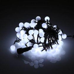 LED볼(앵두) 100구 (백색) 연결형 크리스마스 트리 조명천지