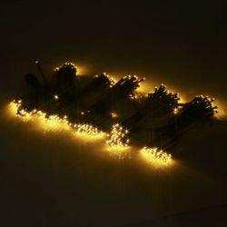 LED300구 연결형검정선 (전구색) 크리스마스 트리장식 조명천지