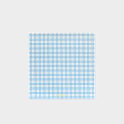 GINGHAM MEMO PAD - Sky Blue