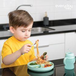 에브리데이베이비 실리콘 아기 흡착식판