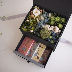 FOREST FLOWER BENTO BOX - ONLY BOX