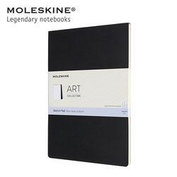 몰스킨 아트 컬렉션 스케치패드 A4 블랙