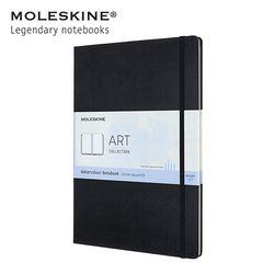 몰스킨 아트 컬렉션 워터컬러 노트 하드커버 A4 블랙