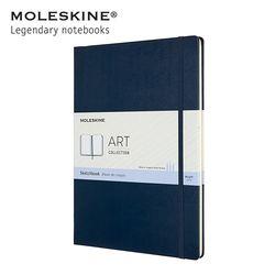 몰스킨 아트 컬렉션 스케치북 하드커버 A4 사파이어블루