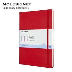 몰스킨 아트 컬렉션 스케치북 하드커버 A4 레드