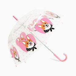 Bubble Umbrella (투명우산) Welsh Corgi