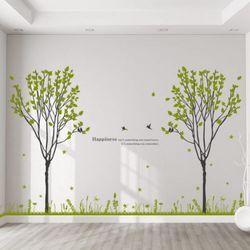 ci358-반짝이는봄날의나무숲그래픽스티커