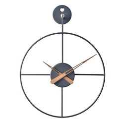와이어벽시계 미니(BK)