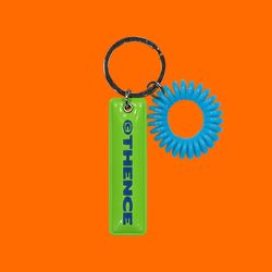 EPOXY KEY HOLDER LOGO GREEN