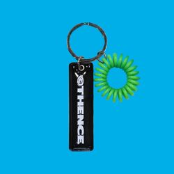 EPOXY KEY HOLDER LOGO BLACK