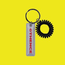 EPOXY KEY HOLDER LOGO GREY