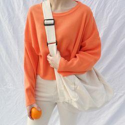 Bubbly crop knit