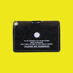 BUTTON CARD WALLET NKC BLACK