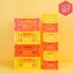 아이카사 카페 세트_오렌지에이드(옐로우+오렌지)