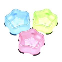 오각별 애견식기 중형 강아지사료그릇