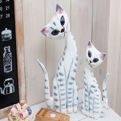 고양이세트 D형 인테리어소품 미니어처 장식소품