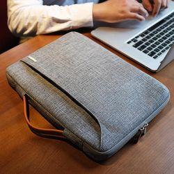 A22 맥북 서피스랩탑 노트북  가방 13인치-13.5인치 그레이