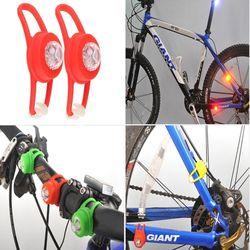 LED원형 1구라이트(2개한세트) 자전거라이트