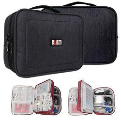 BUBM 스마트 가방 케이블 배터리 메모리 정리 대량수납 L사이즈