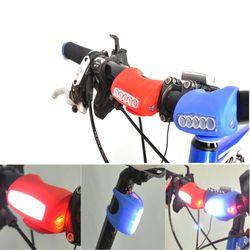 실리콘 LED MTB라이트 5구 자전거용품 자전거라이트