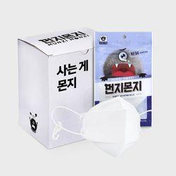 [무료배송] 먼지몬지 KF94 미세먼지 마스크 대형 (25P)