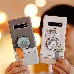 갤럭시노트9 (N960) Migato 그립톡 하드케이스