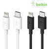 벨킨 USB C to 라이트닝 아이폰 고속 충전 케이블 1.2M F8J239bt