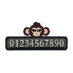 카리노노 CARINONO 히어로멍키 차량용번호판