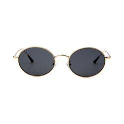 Dominik Gold Black Lens