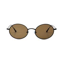 Dominik Black Brown Lens